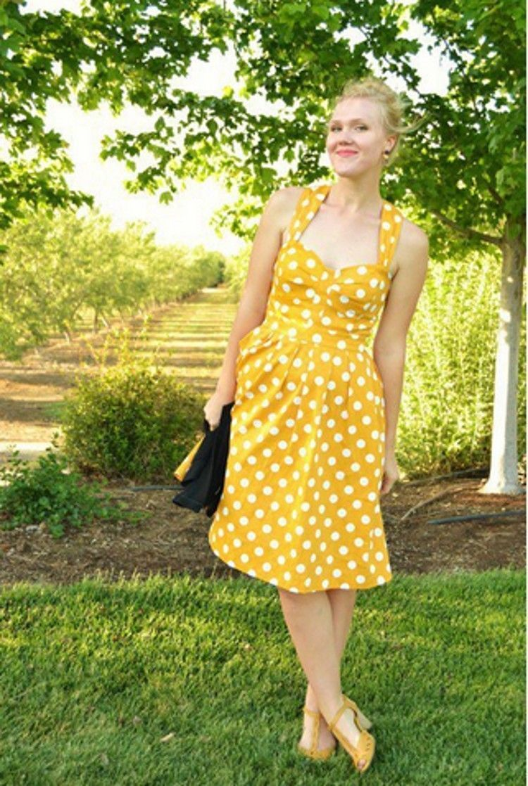 b2de1173428 Madonna-style-Vintage-Rockabilly-Polka-Dot-Swing-50s-60s-pinup-Housewife- Dress-Hot-Sales-free (1) « Women s Clothing