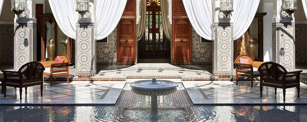 hotel royal mansour marrakech morocco caravane beauty